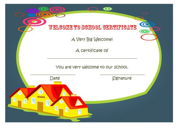 Welcome Certificate Template 24 Stunning Templates Be Surprised