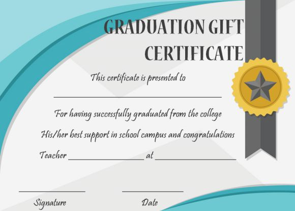 25 Free Graduation Certificates Why We Love Them And You Should