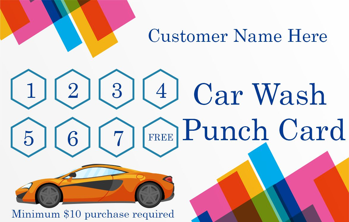 50 Punch Card Templates For Every Business Boost