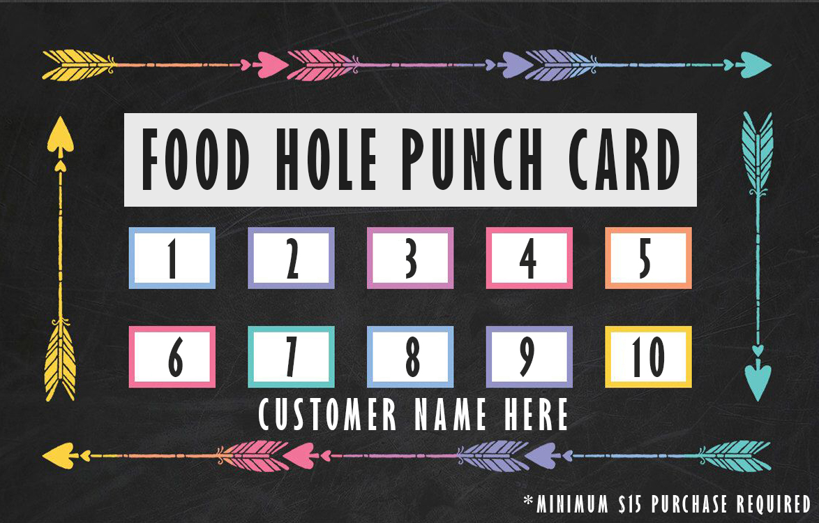 Hole Punch Paper Template
