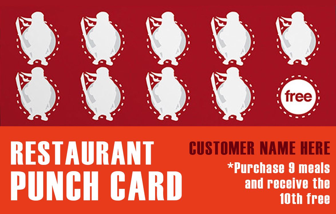 50 Punch Card Templates For Every