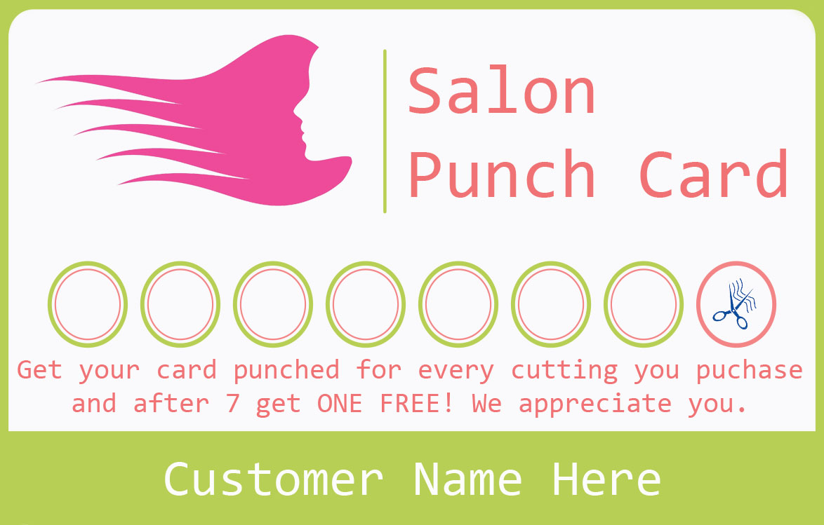 20+ Punch Card Templates - For Every Business (Boost Customer
