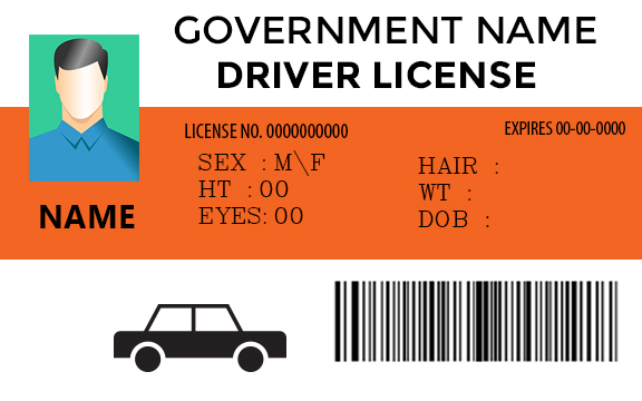 driver license templates make your own templates template sumo