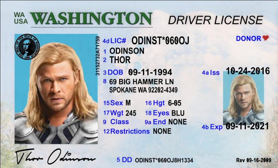 Encoding pdf417 drivers license format washington