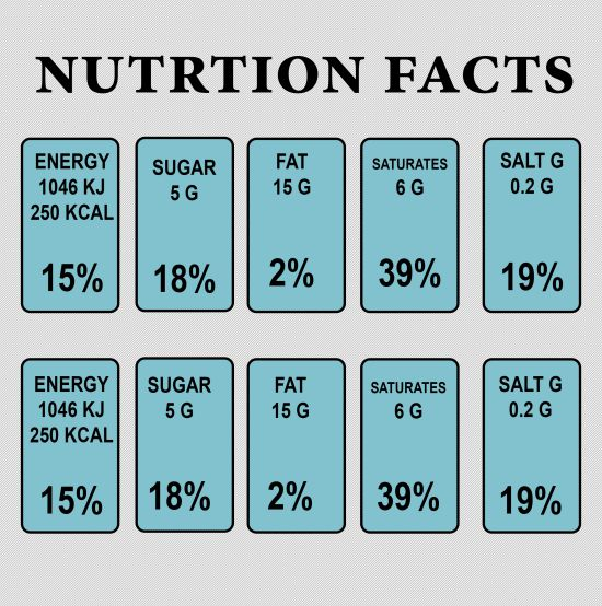 Nutrition Facts 10 Free