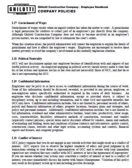 Employee Handbook Templates Detailed Guide On Employee