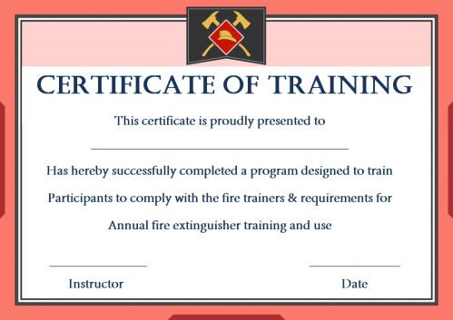 Fire Safety Certificate 10 Templates
