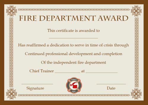 Fire Retardant Certificate Template