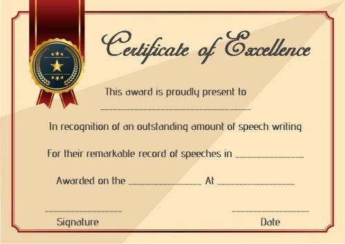 Winner Certificate Template   Speech Contest Winner Certificate Template 10 Free Pdf Document