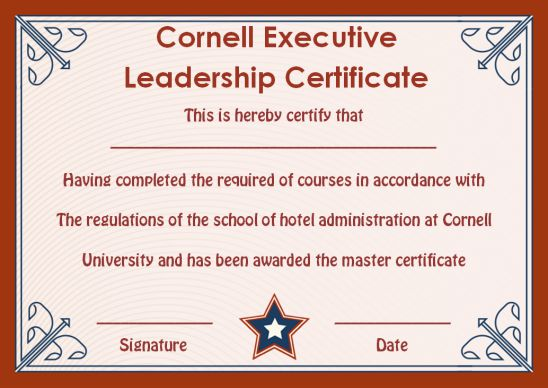 Leadership Certificate Template 25 Templates To Appreciate