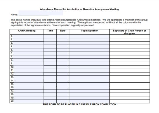 25 Unique Narcotics Anonymous Meeting Templates Na Meeting