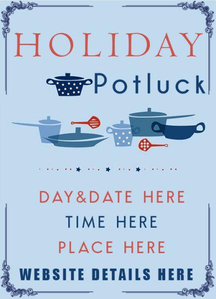 Potluck Invitation 35 Free Templates Amazing Ideas And Wordings