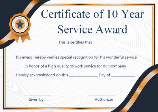 Years of service certificate wording kahre. Rsd7. Org.