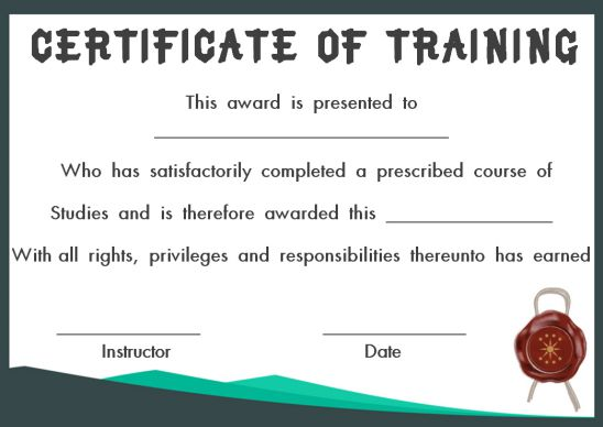 PowerPoint certificate of achievement template