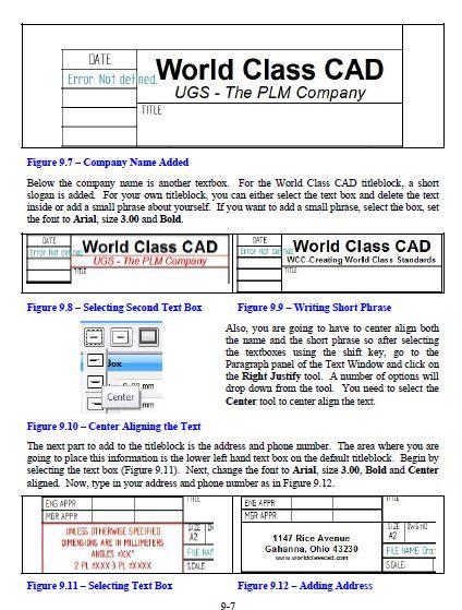 Autocad Title Block Template A4