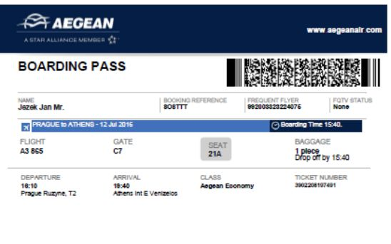 Boarding Pass Template Free