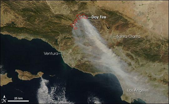 Day Fire - California
