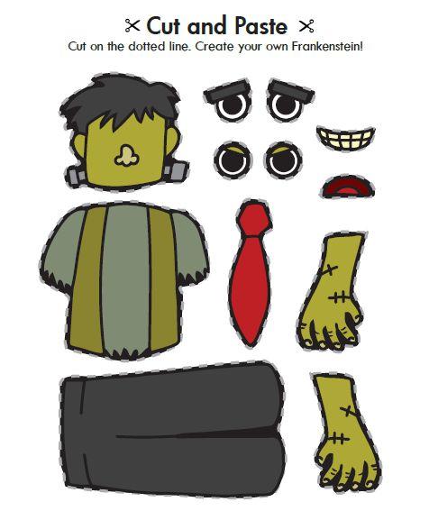 Jack O Lantern Patterns Frankenstein