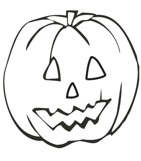 Jack O Lantern Printable Coloring Pages