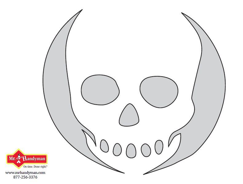 Jack O Lantern Skull Patterns