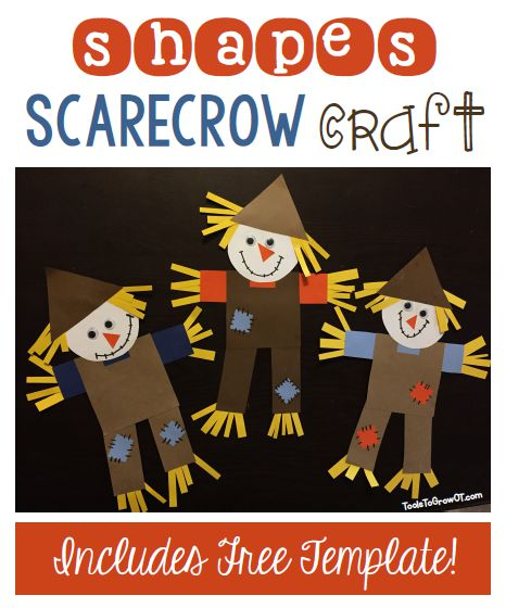 Scarecrow Template Craft