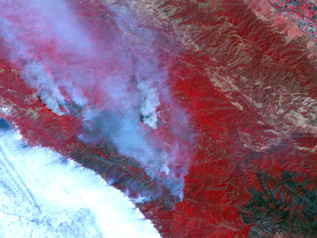 Basin Complex Fire - California