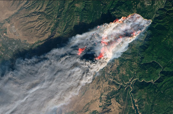 Camp Fire Rages in California