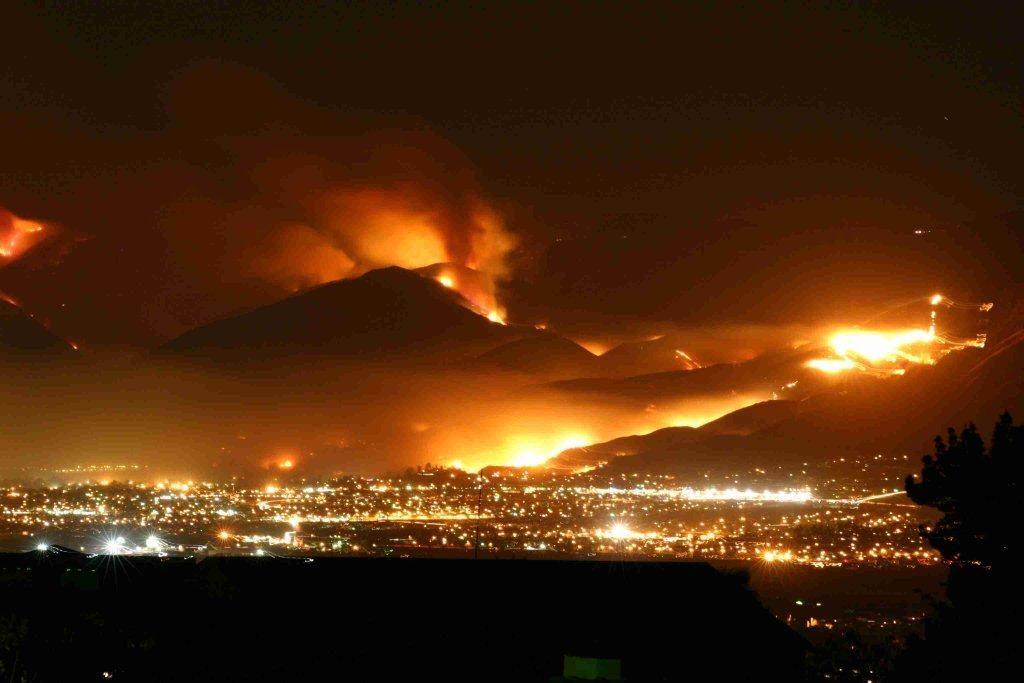 Witch Creek Fire San Diego - California