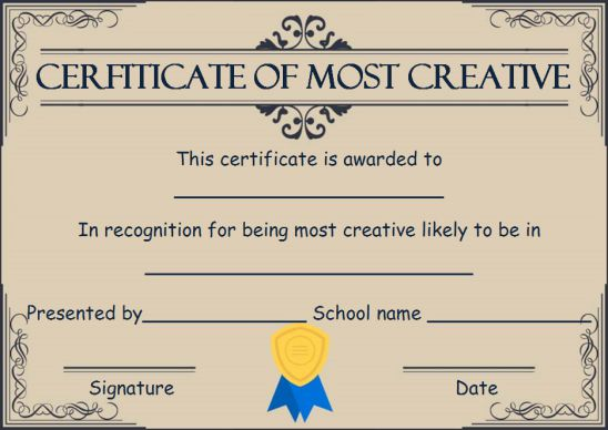 Creative most likely to award