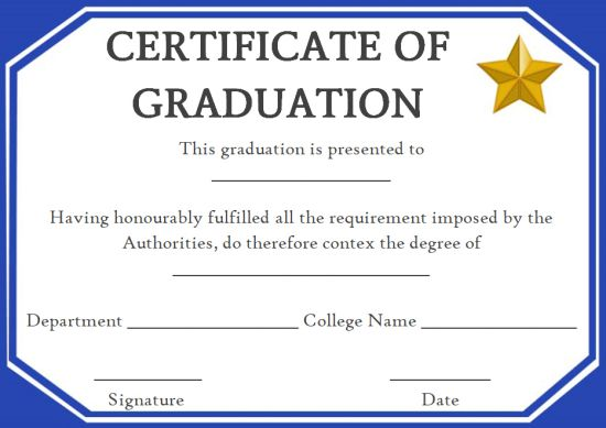 Fake degree certificate templates