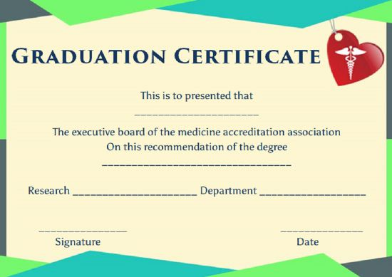 Fake medical degree certificate templates