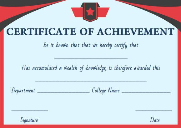 Free doctorate certificate template