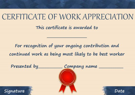 Funny most likely to award for work