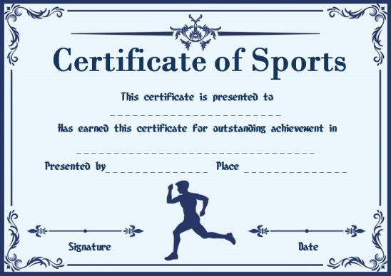 Most likely to award for sports