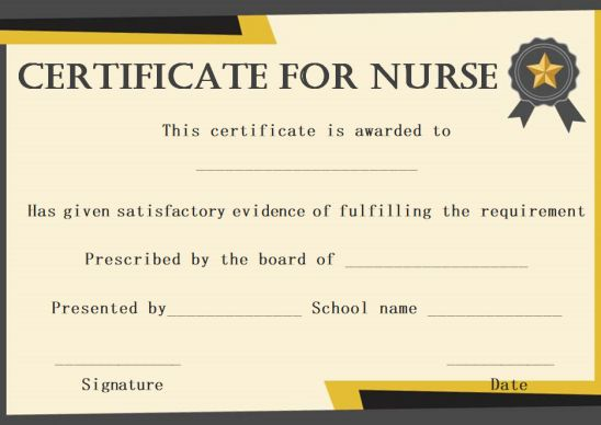 Most likely to awards for nurses